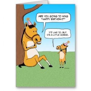 wonderful birthday happy birthday funny horse happy birthday to horses ...