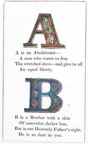 Abolitionist ABCs #hst202
