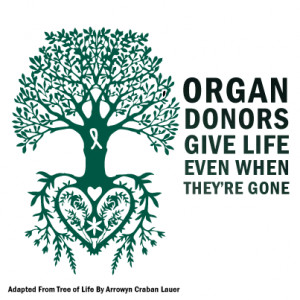 Organ Donor Card Ideas