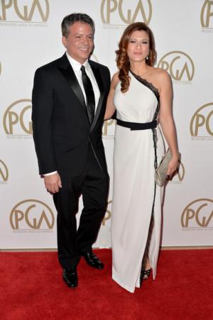 Michael De Luca Producer Michael De Luca and wife Angelique De Luca