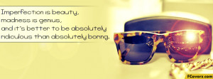 Sunglasses Quotes Facebook Timeline Cover