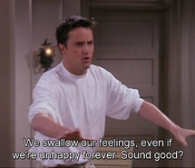 chandler bing, friends, quotes, tv series