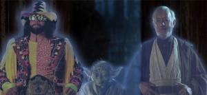 Macho Man Randy Savage, Obi-Wan Kenobi, & Yoda