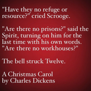 My Favorite Quotes from A Christmas Carol #34 – Are there no prisons ...