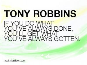 Quotes of Tony Robbins