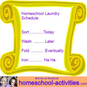 ... homeschooling that can be overwhelming, and humor is a great way to