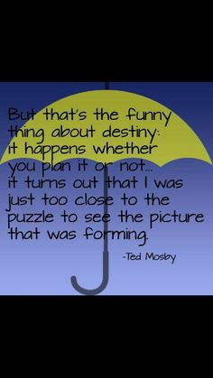 Why Ted Mosby!! :)