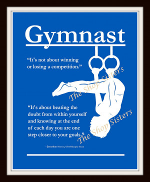 Inspirational Quotes About Gymnastics Gymnastics quotes