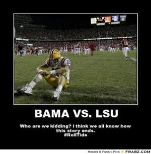 Best Alabama vs. LSU Memes