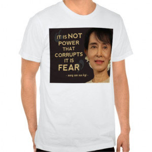 Aung san suu kyi quotes t shirts