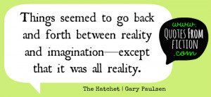 Quotes From Gary Paulsen ~ Quotes from Fiction