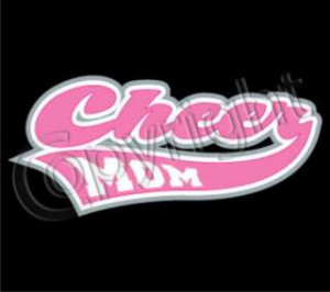 CHEER MOM Mothers Day Gift Cool Funny Support Team Sport Cheerleading