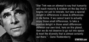 Gene Roddenberry Quote