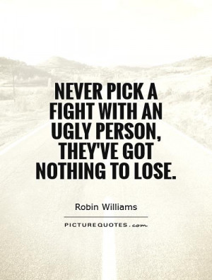ugly personality quotes