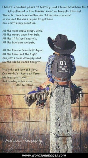 Inspirational Rodeo Quotes And Sayings Quotesgram