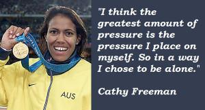 Cathy Freeman's quote #1