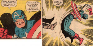 Captain America knows when to give up…