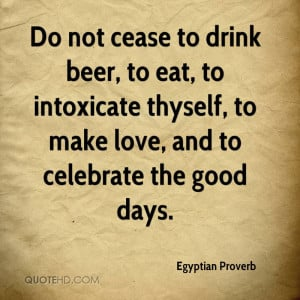 Egyptian Proverb Quotes