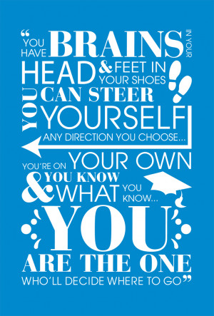 Graduation Quotes Dr Seuss Quote from dr. seuss,