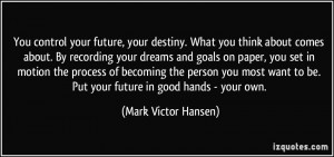More Mark Victor Hansen Quotes