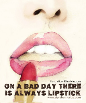 "Responses to ""On a bad day there's always lipstick"""