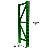 How high and how deep do you need your pallet racks to be? The most ...