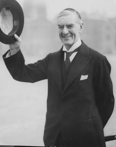 Neville Chamberlain. After Munich, diplomats are reluctant to appear ...