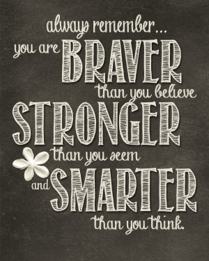 The quote is from Winnie the Pooh to Christopher Robin. I found the ...