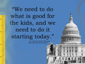 November 7, 2012 by Dr. Gene R. Carter, ASCD Executive Director and ...