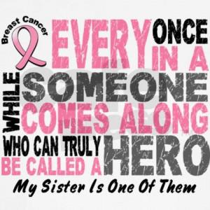 My sister...My hero!