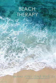 Beach Therapy quotes photography summer quote beach ocean summer ...