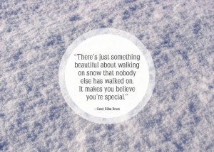 Sayings About Snow Famous