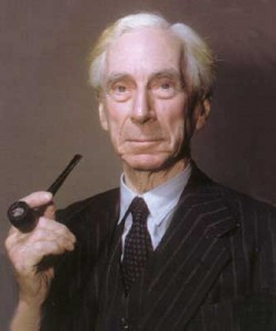 Bertrand russell and time
