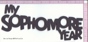 Honor's English Final: My Sophomore Year! :)