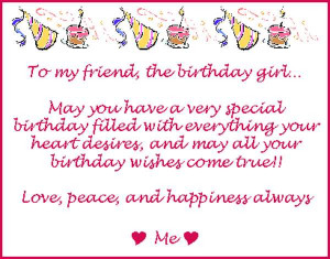 funny happy birthday poems for best friends | Picture Papers