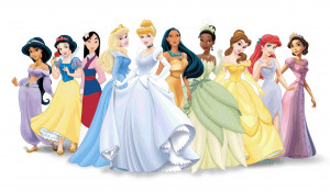 So I couun't help by doing this A version of the Disney Princess Line ...