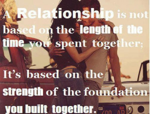 Quotes about relationship based on the strength