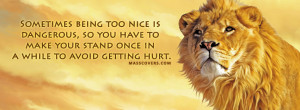 Sometimes being too nice is...