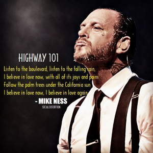 Highway 101 - Mike Ness / Social D