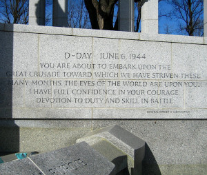 Eisenhower Quotes After D Day ~ The Slippery Slope: World War II ...