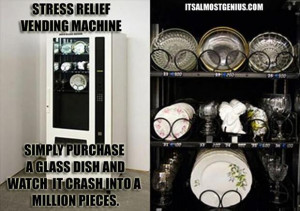 Stress Relief Vending Machine - Funny Quotes