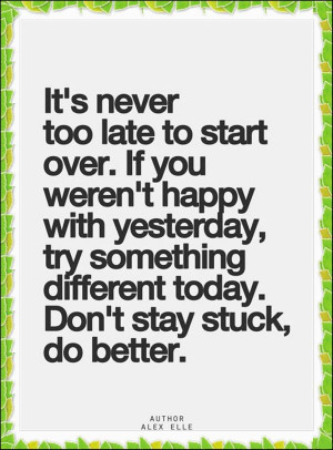 To Start Over Quotepixcom Quotes Pictures Images Picture