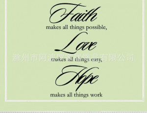 faith hope love quotes Reviews