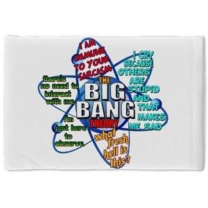 Big Bang Theory Quotes Pillow Case