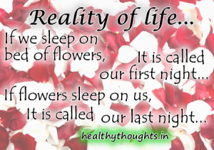 quotes_reality_of_life_bed_of_roses