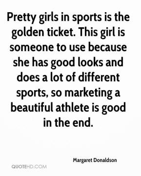 Pretty girls in sports is the golden ticket. This girl is someone to ...