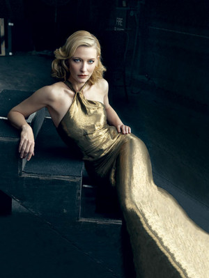 Cate Blanchett Vanity Fair Magazine February 2009 (Cover Photo ...