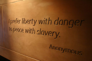 Freedom and Enslavement Wall