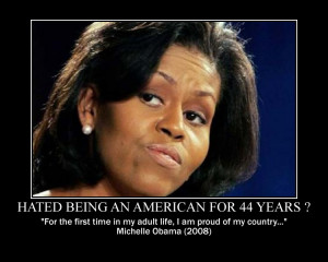 ... is another disgusting display of MObama and BO's hatred of America