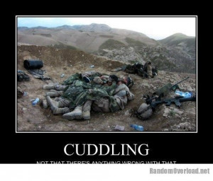 CUDDLING NOT THAT THERE'S ANYTHING WRONG WITH THAT LoL by: bajio6401 ...